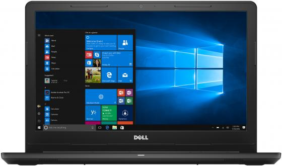 Ноутбук Dell Inspiron 3567 Core i3 7020U/4Gb/1Tb/DVD-RW/Intel HD Graphics/15.6/HD (1366x768)/Windows 10/black/WiFi/BT/Cam моноблок msi pro 20et 4bw 072ru celeron n3160 1 6 4gb 1tb 19 5 hd touch int intel hd dvd rw wifi bt cam kb m dos white