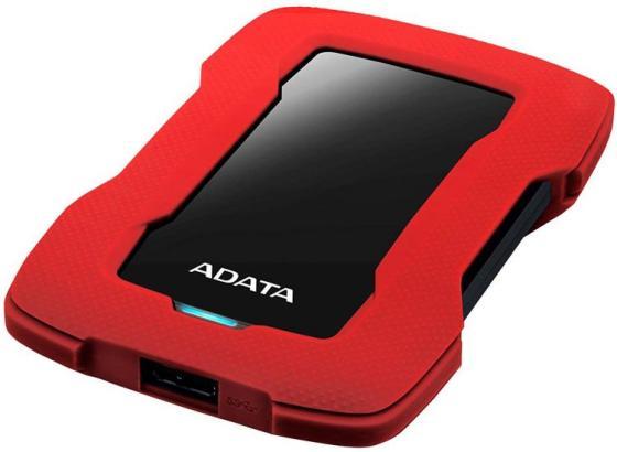 Жесткий диск A-Data USB 3.0 1Tb AHD330-1TU31-CRD HD330 DashDrive Durable 2.5 красный
