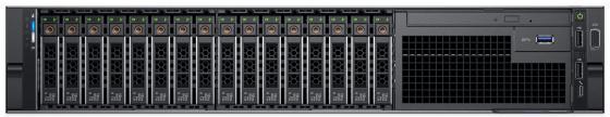 Сервер Dell PowerEdge R740 1x4110 1x16Gb x8 1x1Tb 7.2K 3.5 SATA H730p mc iD9En 5720 4P 1x750W 3Y PNBD (R740-3530) сервер dell poweredge r740 1xsilver 4114 1x16gb x16 1x600gb 10k 2 5 sas h730p mc id9en 5720 4p 1x75