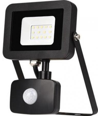 ЭРА Б0029430 Прожектор светодиодный LPR-20-6500К-М-SEN SMD Eco Slim {20W, 6500К, с датчиком движения} yeelight ночник светодиодный заряжаемый с датчиком движения