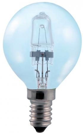СТАРТ (4607175859332) Галогенная лампа. Теплый свет. Колба - шарик. ГЛН ДШ 42Вт Е14 --10/50 (В)