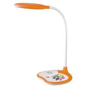 ЭРА Б0028463 Настольный светодиодный светильник NLED-433-6W-OR оранжевый, дизайн Фиксики {плавный диммер яркости, цвет. температура 3000/4500/6500К} эра б0028458 настольный светодиодный светильник nled 458 6w bk черный диммер яркости цвет температура 3000 4500 6500к