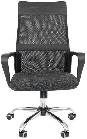 Офисное кресло РК 166 (Обивка: Ткань SY, сетка, Терра, цвет -серый) (НФ-00000961)