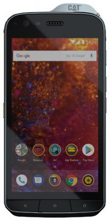 Смартфон Caterpillar S61 черный 5.2 64 Гб NFC LTE Wi-Fi GPS 3G Bluetooth смартфон nokia 5 ds медный 5 2 16 гб lte wi fi gps
