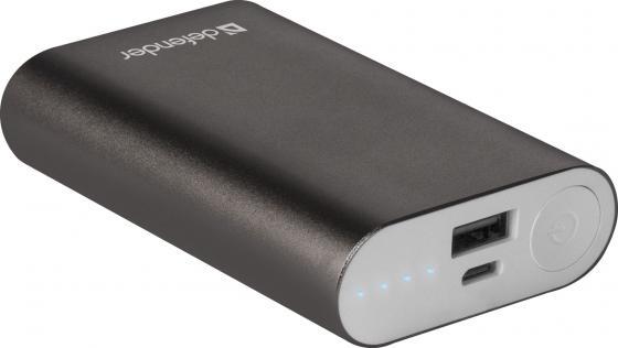 Defender Внешний аккумулятор Lavita 6000B 1 USB, 6000 mAh, 2.1 A (83616) аккумулятор defender tesla 5000 83638