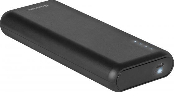 лучшая цена Defender Внешний аккумулятор Lavita 10000B 2 USB, 10000 mAh, 2.1A (83617)