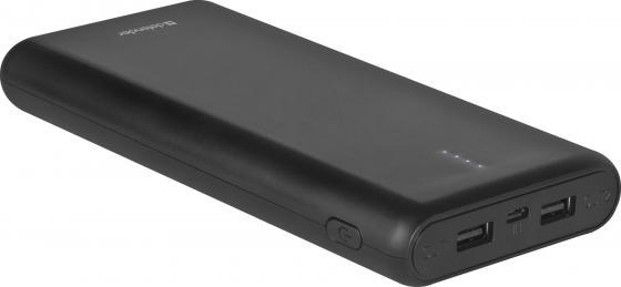 Купить Defender Внешний аккумулятор Lavita 16000B 2 USB, 16000 mAh, 2.1A (83618), Внешний аккумулятор Power Bank, черный