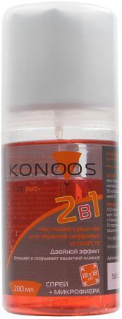 Чистящий набор Konoos KT-200DUO 200 мл чистящий набор wimax ckswmp 3p