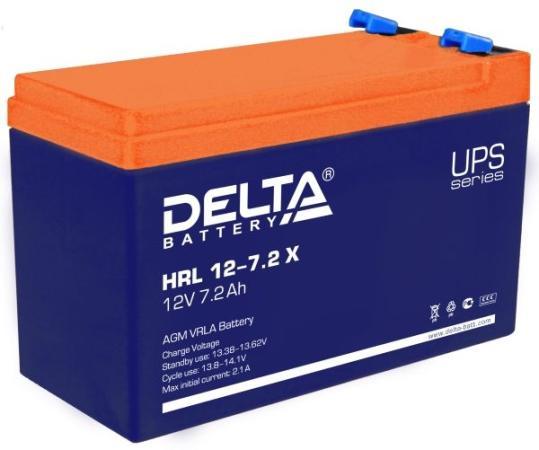 Delta HRL 12-7.2 Х (7.2 А\\ч, 12В) свинцово- кислотный аккумулятор цена
