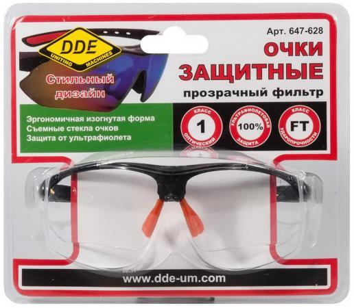 Очки DDE 647-628 защитные прозрачные
