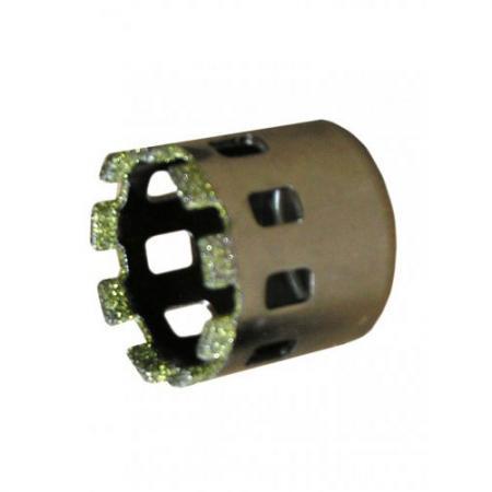 Коронка алмазная ЭНКОР 9434 по керамограниту ф35мм коронка по керамограниту 10х33 мм bosch профи
