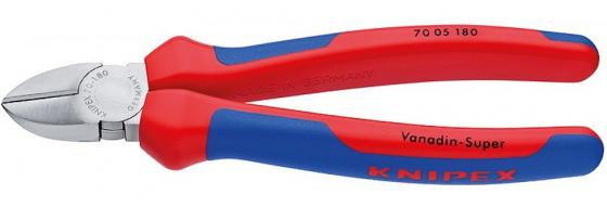 Кусачки KNIPEX KN-7005125 боковые хромированные 125 mm бокорезы knipex kn 1426160