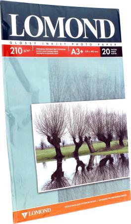 Бумага Lomond A3+ 210г/кв.м двусторонняя глянцевая/матова 20л 0102027 lomond natural canvas dye 300 a3 20л натуральный холст для водных чернил