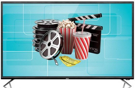 Телевизор LED 50 BBK 50 LEX 7027 FT2C черный 1920x1080 50 Гц Smart TV Wi-Fi VGA SCART