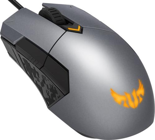 лучшая цена Мышь проводная ASUS TUF Gaming M5 серый USB
