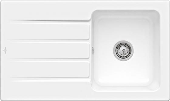 Architectura 50 860 x 510 mm R1 White Alpin CeramicPlus