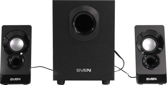 Акустическая система 2.1 SVEN MS-85 / 10 Watt / ~220V 50Hz / Black акустическая система sven ms 107 черный