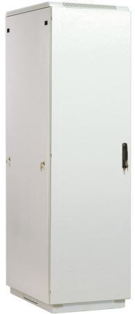 Шкаф телекоммуникационный напольный 42U (600x1000) дверь металл (3 места), [ ШТК-М-42.6.10-3ААА ]