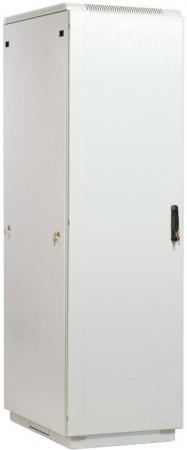 Шкаф телекоммуникационный напольный 42U (600x600) дверь металл (3 места), [ ШТК-М-42.6.6-3ААА ]