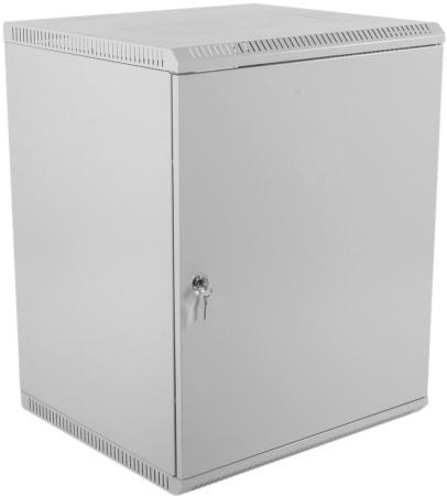 Шкаф телекоммуникационный настенный разборный 15U (600х520) дверь металл
