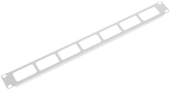 Органайзер кабельный горизонтальный 19 1U с окнами для кабеля korff средство двухфазное для снятия макияжа 150 мл