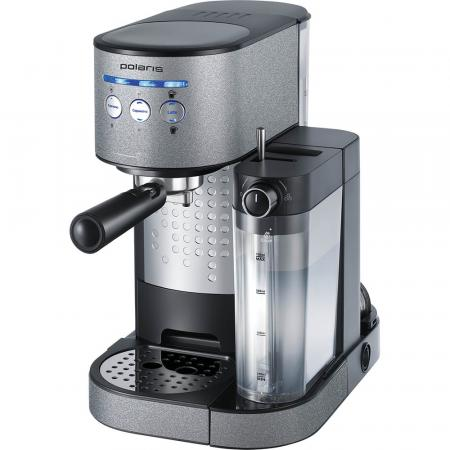 Кофеварка эспрессо Polaris PCM 1522E Adore Cappuccino 1350Вт антрацит lacywear dg 135 cr