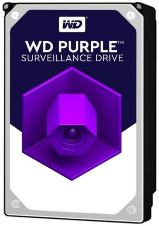 Фото - Жесткий диск 3.5 10 Tb 7200rpm 256Mb cache Western Digital Purple WD101PURZ SATA III 6 Gb/s жесткий диск 3 5 10 tb 7200rpm 256mb cache western digital purple wd101purz sata iii 6 gb s
