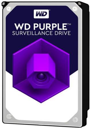 "Жесткий диск 3.5"" 10 Tb 7200rpm 256Mb cache Western Digital Purple WD101PURZ SATA III 6 Gb/s"