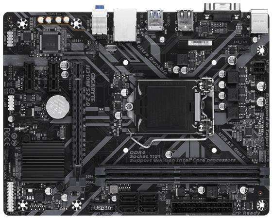 Материнская плата GigaByte H310M S2 2.0 Socket 1151 H310 2xDDR4 1xPCI-E 16x 2xPCI-E 1x 4 mATX Retail материнская плата gigabyte h310m s2h socket 1151 v2 h310 2xddr4 1xpci e 16x 2xpci e 1x 4 matx retail