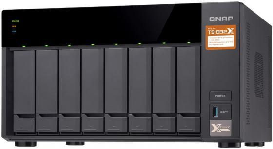 цены на СХД настольное исполнение 8BAY NO HDD TS-832X-8G QNAP