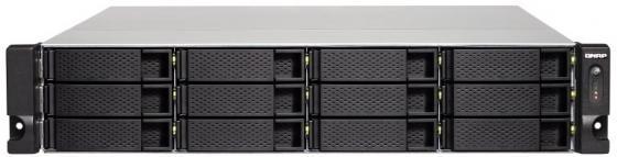 СХД стоечное исполнение 12BAY 2U NO HDD USB3 TS-1232XU-4G QNAP maiwo k252b 2 5 usb3 0 sata hdd enclosure black