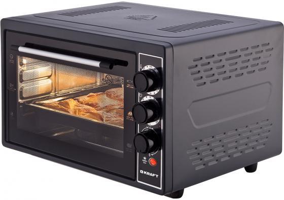 KRAFT KF-MO 3802 KBL Мини-печь черный цена