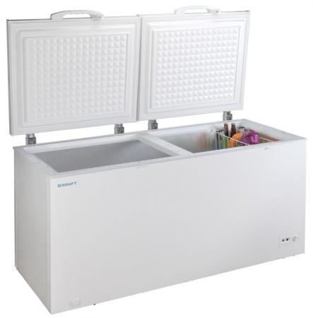 Морозильный ларь Kraft BD(W)-600QX белый морозильный ларь kraft bd w 275qx