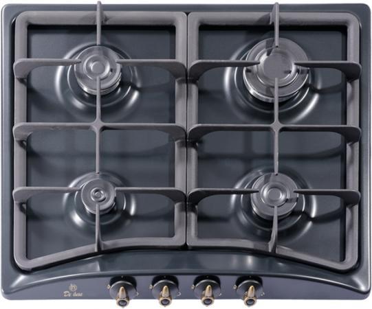 Варочная панель газовая De Luxe 5840.00гмв-059чр черный