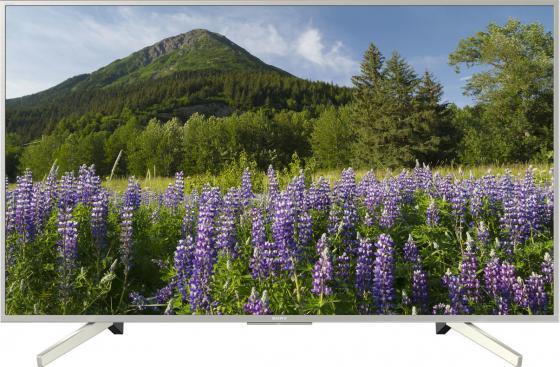 Телевизор 49 SONY KD-49XF7077 черный серебристый 3840x2160 50 Гц Wi-Fi Smart TV RJ-45