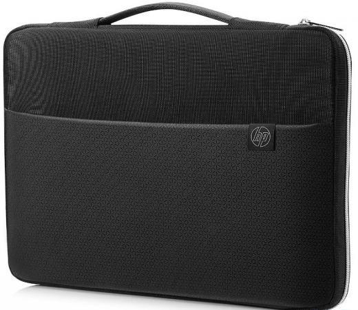Чехол для ноутбука 15.6 HP Carry Sleeve неопрен черный 3XD36AA сумка hp crosshatch carry sleeve 15 черный