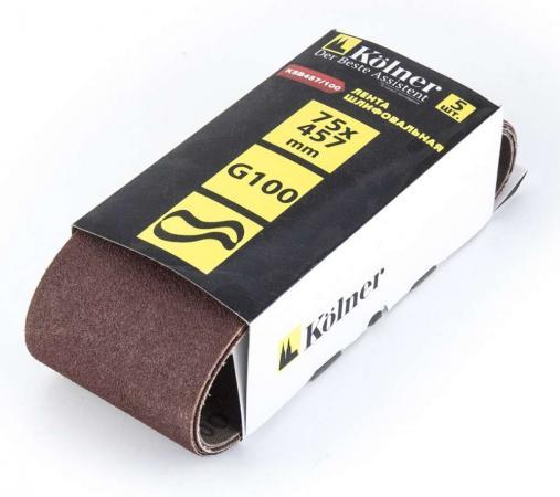 Лента шлифовальная Kolner KSB457/100 лента шлифовальная kolner ksb533 80
