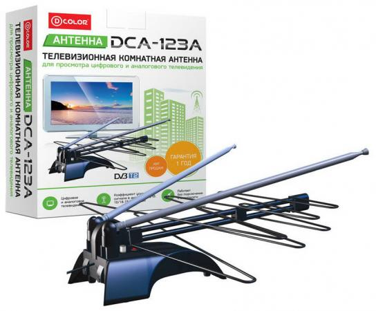 Антенна D-COLOR DCA-123A 5B активная d color dc1002hd