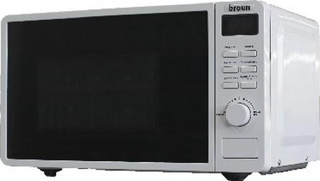 Микроволновая печь Braun MWB 20D01 W 700 Вт белый
