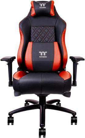 Thermaltake Кресло игровое X Comfort Air Gaming Chair (Black-Red) New ergonomic series executive racing style computer gaming office chair robot s eye computer chair esports desk chair with pillow