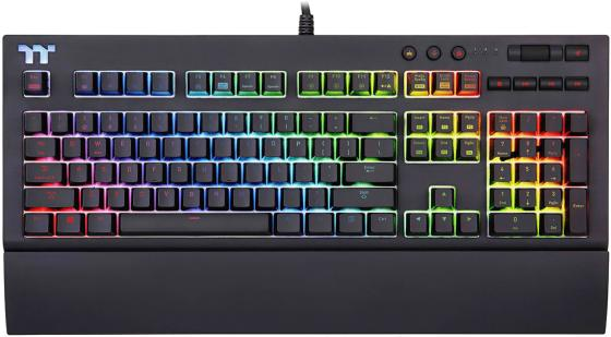 лучшая цена Thermaltake Клавиатура игровая Tt eSPORTS X1 RGB Cherry MX Gaming