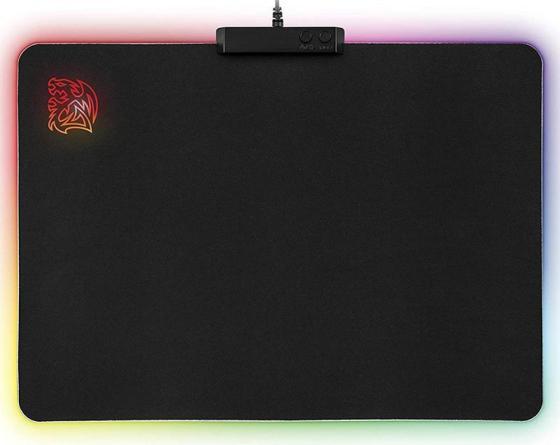 лучшая цена Thermaltake Коврик для мыши игровой Tt eSPORTS Draconem RGB cloth edition.