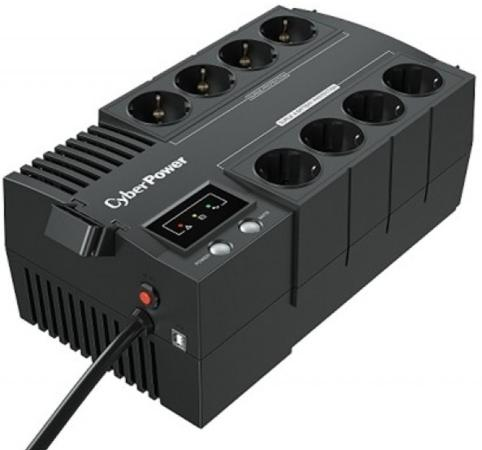 CyberPower ИБП Line-Interactive BS650E NEW 650VA/390W 8 Schuko розеток, USB, Black free shipping 100pcs am9435p 9435p sop 8 100% new