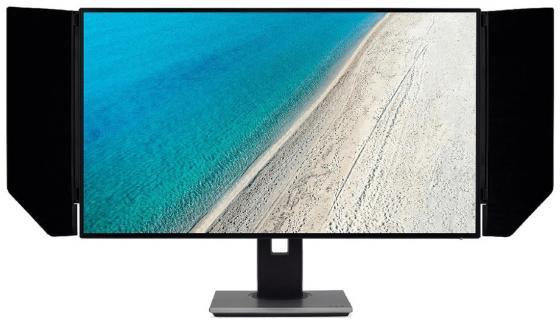 Фото - Монитор 32 Acer PE320QKBMIIPRUZX черный IPS 3840x2160 350 cd/m^2 4 ms HDMI DisplayPort USB UM.JP0EE.001 монитор 27 acer cb271hkabmidprx черный ips 3840x2160 300 cd m^2 4 ms dvi hdmi displayport um hb1ee a05
