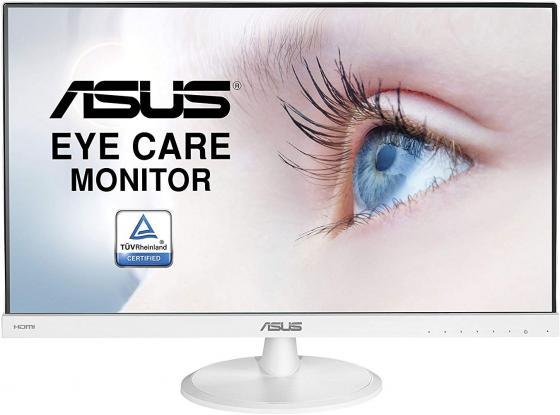 Монитор 23 ASUS VC239HE-W белый IPS 1920x1080 250 cd/m^2 5 ms VGA HDMI монитор asus vp249h черный ips 1920x1080 250 cd m^2 5 ms hdmi vga