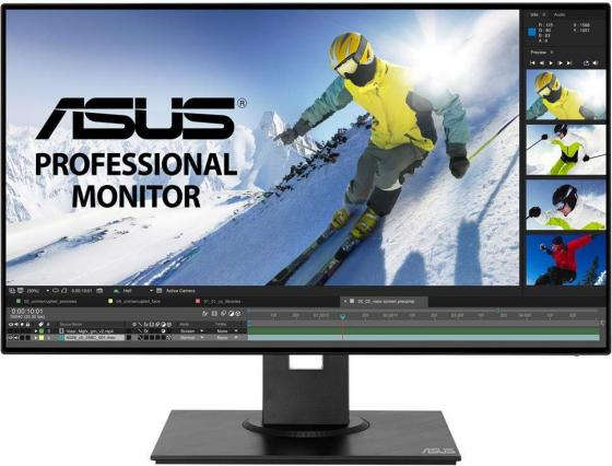 Монитор 23.8 ASUS PB247Q черный IPS 1920x1080 250 cd/m^2 5 ms USB Аудио HDMI DisplayPort Mini DisplayPort монитор asus vp249h черный ips 1920x1080 250 cd m^2 5 ms hdmi vga