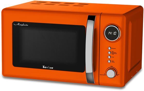 лучшая цена Микроволновая печь TESLER ME-2055 700 Вт оранжевый