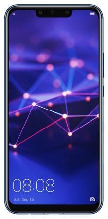"Купить со скидкой Смартфон Huawei Mate 20 Lite синий 6.3"" 64 Гб NFC LTE Wi-Fi GPS 3G"