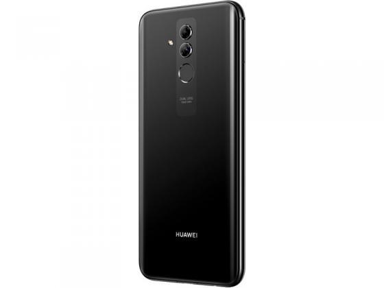 Смартфон Huawei Mate 20 Lite черный 6.3 64 Гб LTE NFC Wi-Fi GPS 3G 51092QTT смартфон huawei mate 20 lite черный
