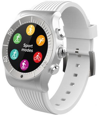 Смарт часы MyKronoz ZeSport цвет серебро/белый цена и фото